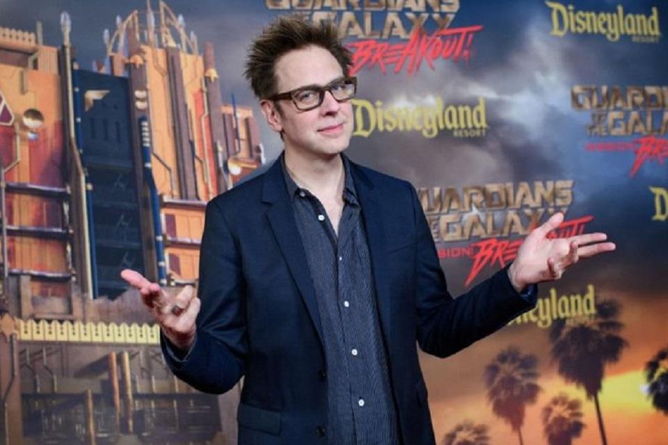 James Gunn explica sugestão de crossover com personagens da Marvel e DC