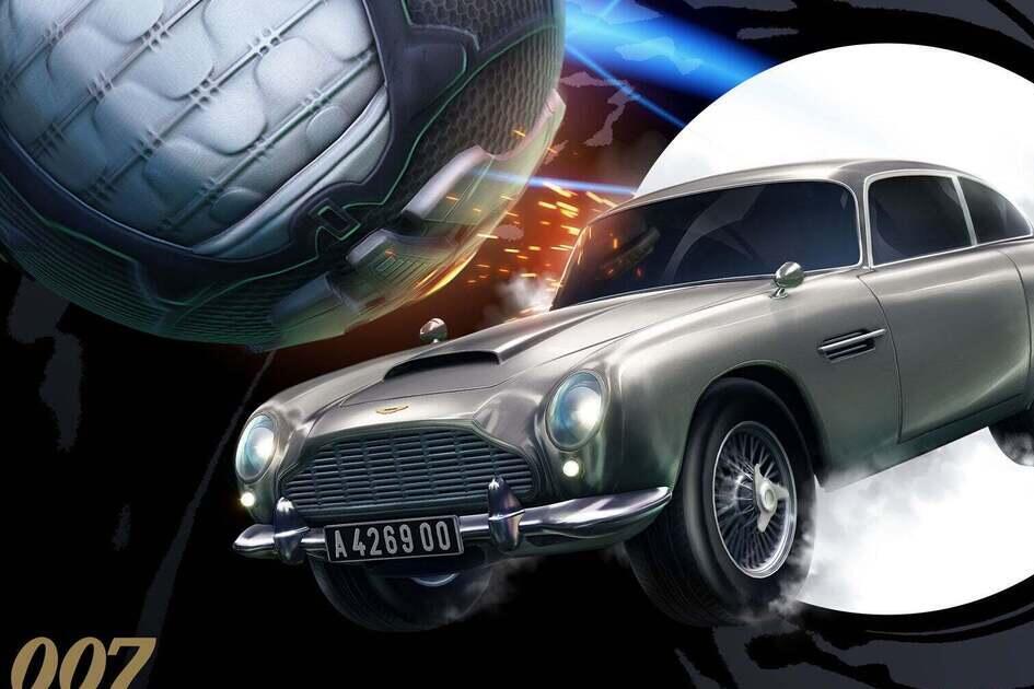 Colaboração entre 007 e Rocket League tem imagens reveladas