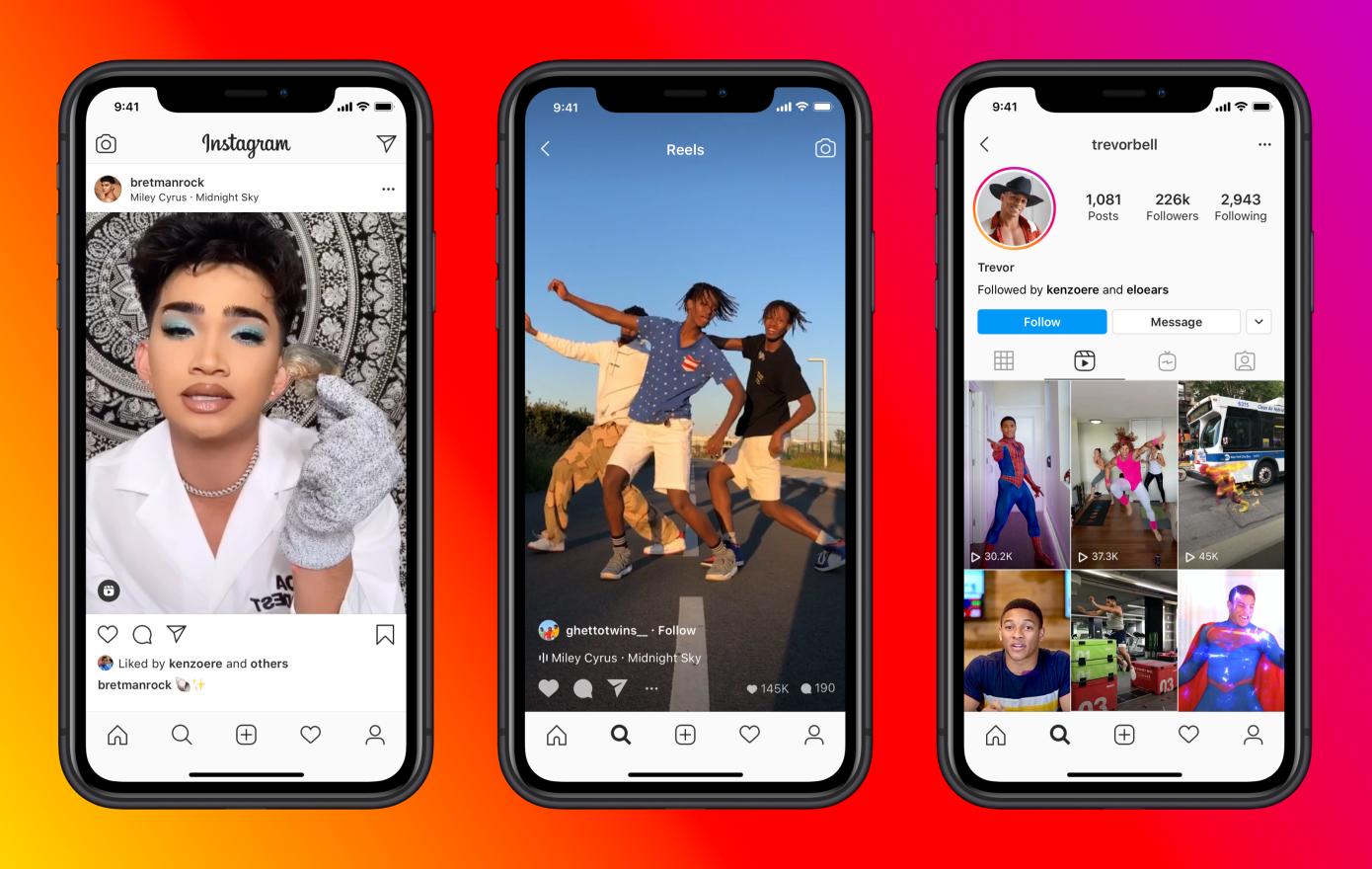 Instagram Reels dobrou o limite de tempo para os conteúdos.