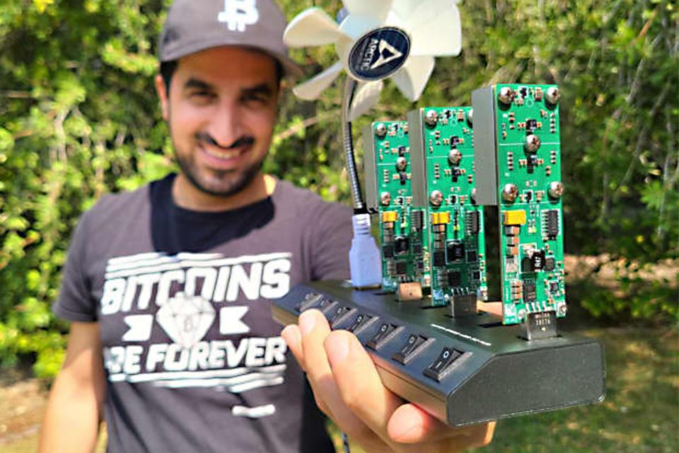 Bitcoin: rig de mineração 'acessível' faz sucesso no TikTok