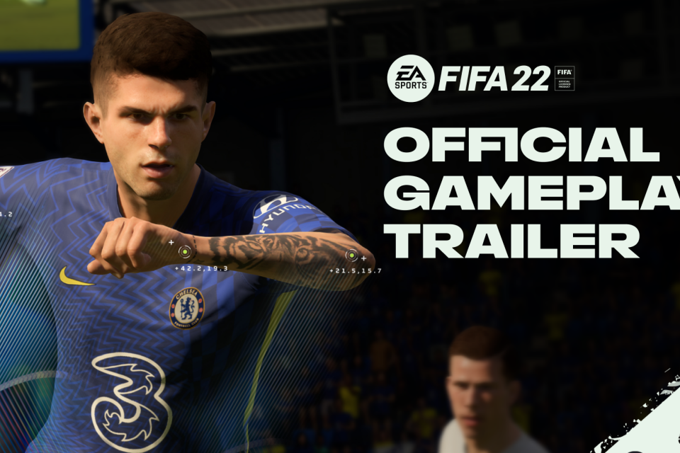 FIFA 22 ganha primeiro trailer com foco em jogabilidade next-gen