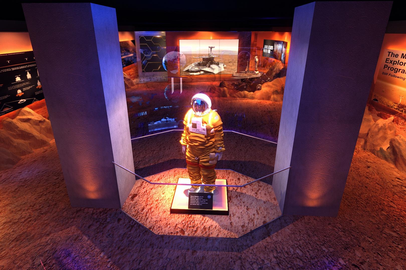 Exposição em SP leva ao espaço até quem não é bilionário