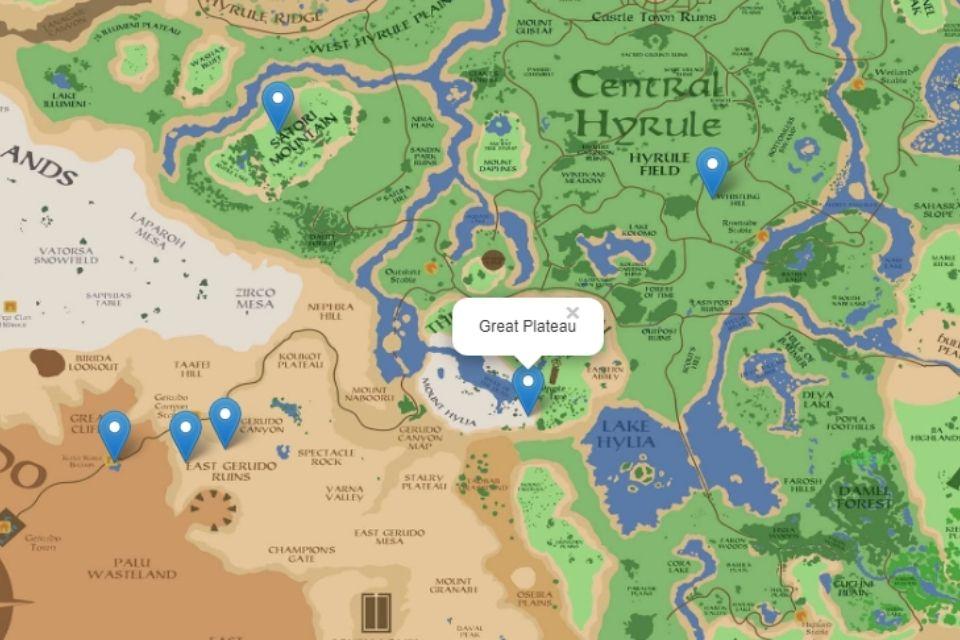 Projeto leva Google Street View para Zelda: Breath of the Wild