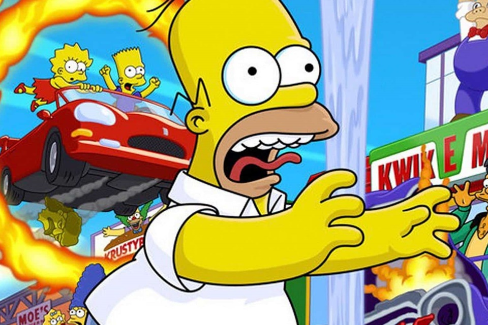 Simpsons: produtor do desenho gostaria de ver um remaster de Hit & Run