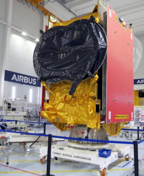 O satélite Quantum pode ser reconfigurado em órbita.