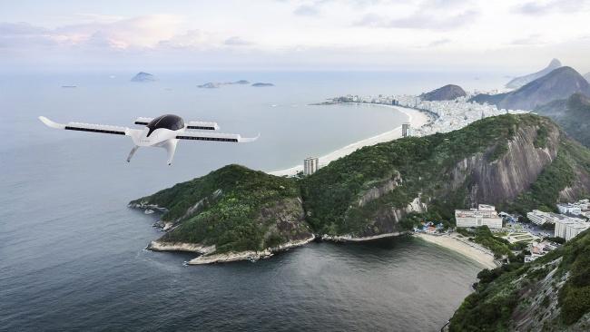 O eVTOL da Azul deverá voar em todo o Brasil.