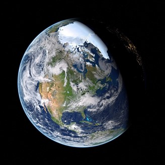 The Earth's slower rotation coincides with increased oxygen production. (Source: Pixabay/Alexander Antropov/Reproduction)