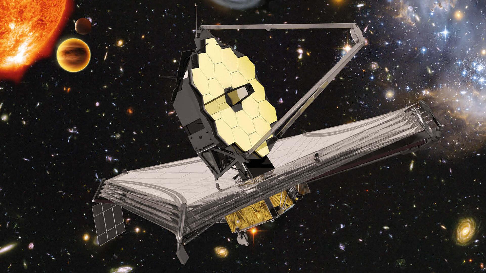 James Webb Telescope (Source: ESA/Disclosure)