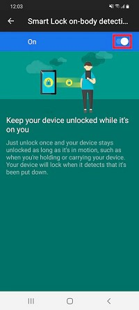 If the phone has a specific sensor, Smart Lock allows you to keep the device unlocked while you are close to its owner. (Source: Samsung/Reproduction)