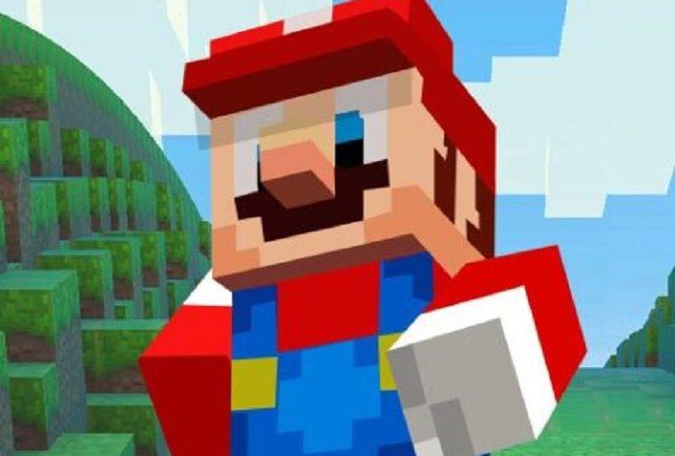 Imagem de Super Mario Minecraft Runner