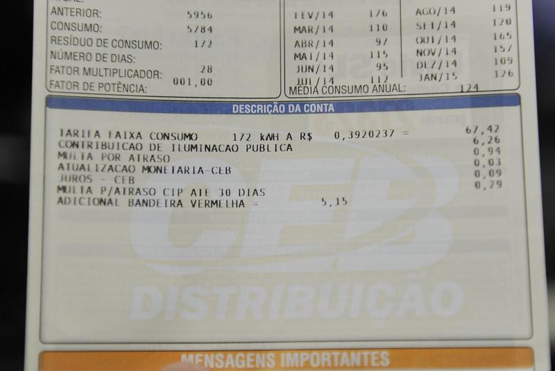 Additional fee will make the bill 7% more expensive from September. (Source: Agência Senado/Marcos Oliveira/Reprodução)