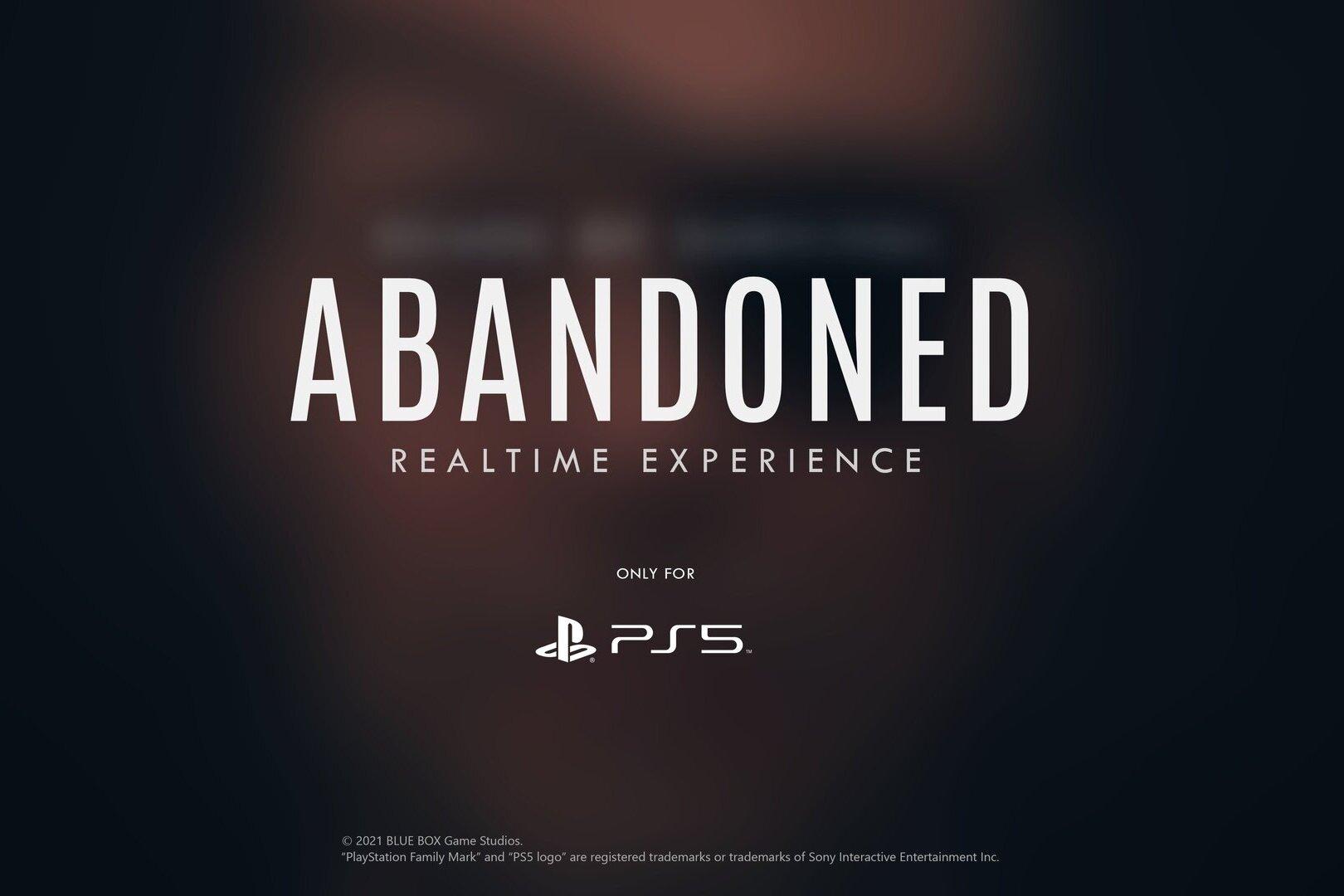 Abandoned: estúdio admite que anúncio do jogo foi precipitado