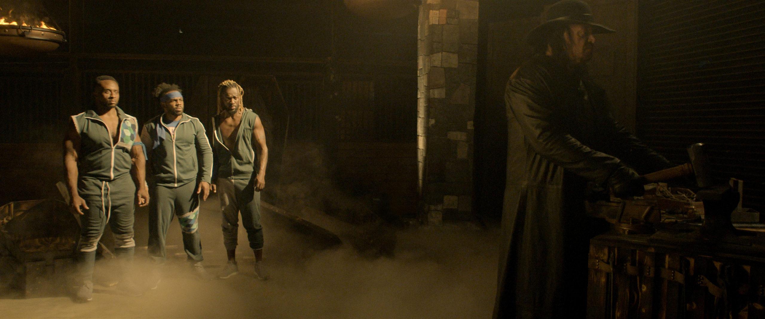 Big E, Xavier Woods e Kofi Kingston vão encarar o Undertaker em novo filme interativo de terror