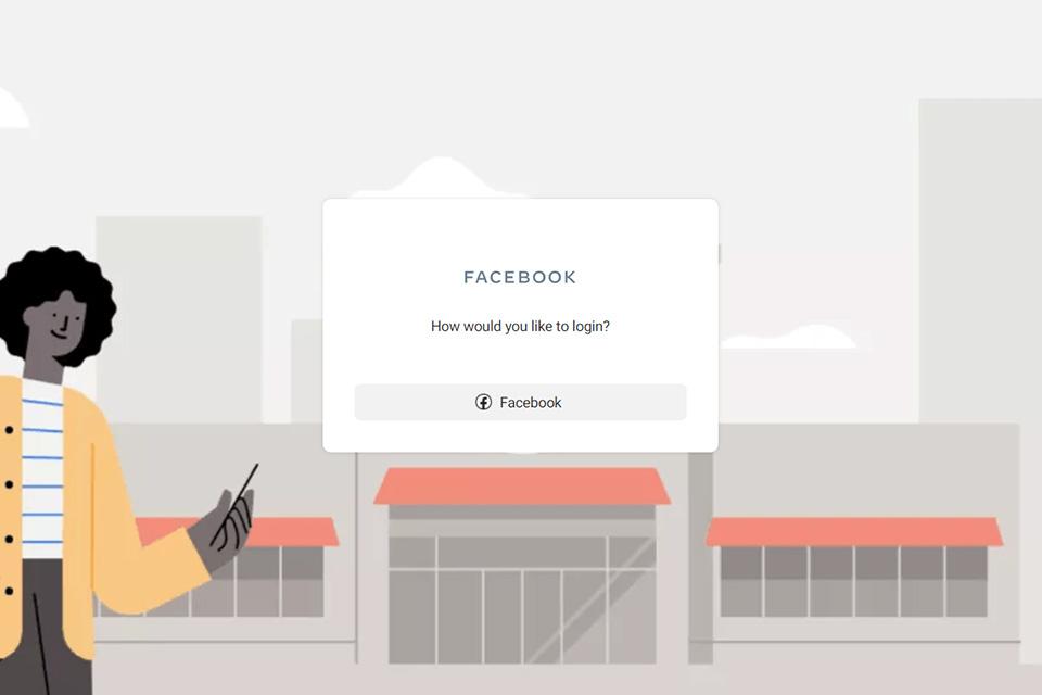 É necessário criar uma conta, caso não possua uma página profissional, para utilizar o Facebook Business; o processo é rápido e gratuito. (Fonte: Facebook Business / Reprodução)