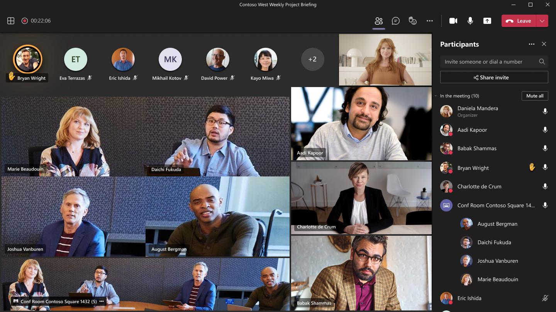 Microsoft implantará funções de IA para melhorar experiência de reuniões no Teams. (Fonte: Microsoft/Reprodução)