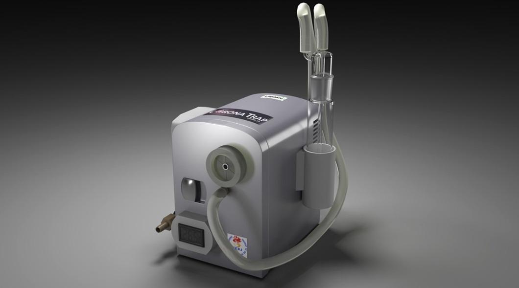 O novo aparelho de monitoramento viral, batizado de CoronaTrap