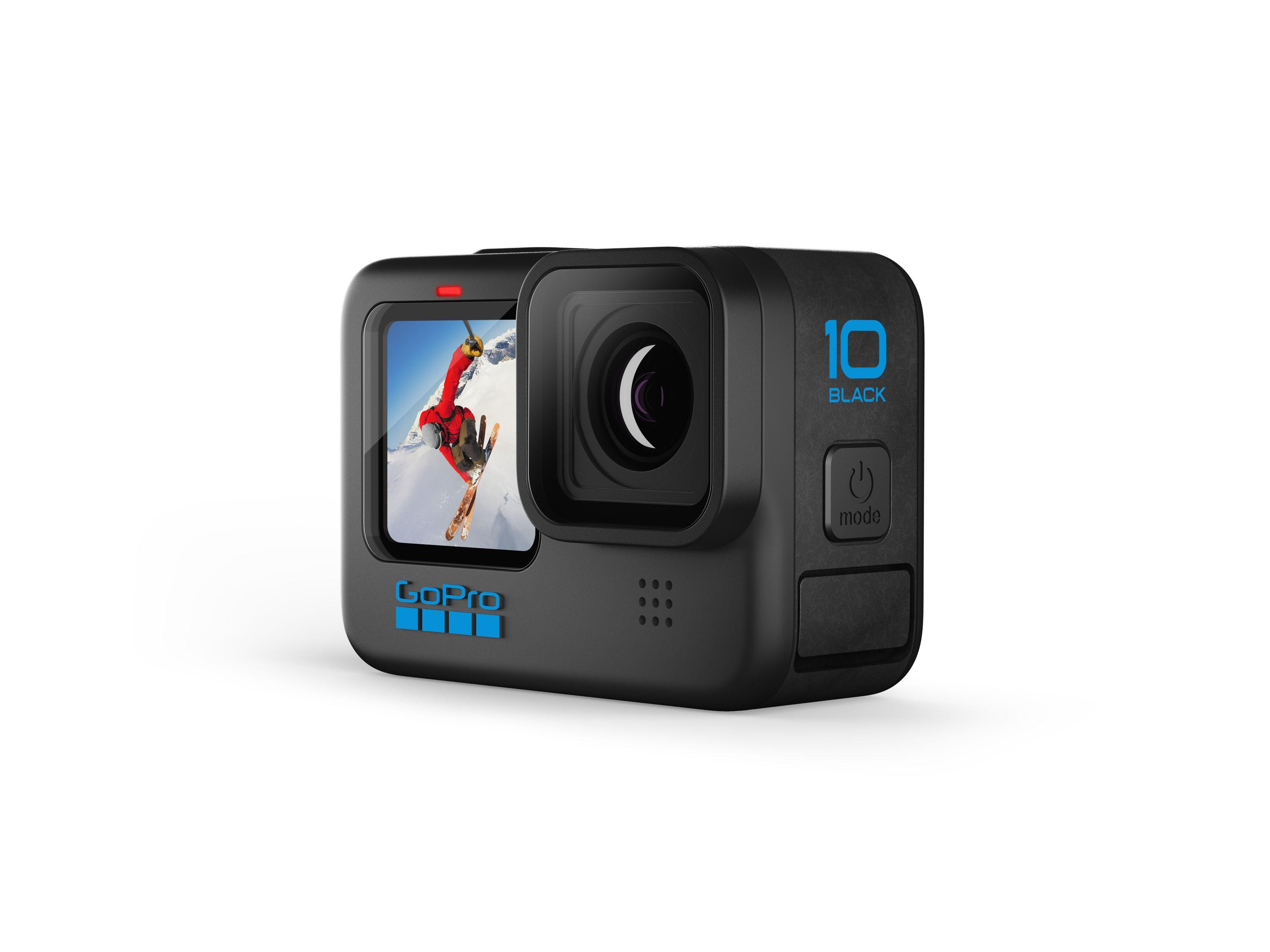 GoPro Hero 10 Black é lançada com o dobro de desempenho da Hero 9
