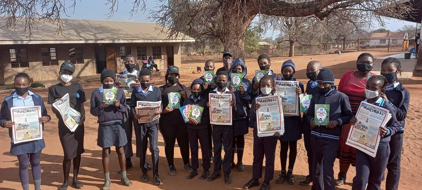 ONG Nal'ibali promove leituras plurilinguísticas na África do Sul (Fonte: Nal'ibali/Facebook/Reprodução.)