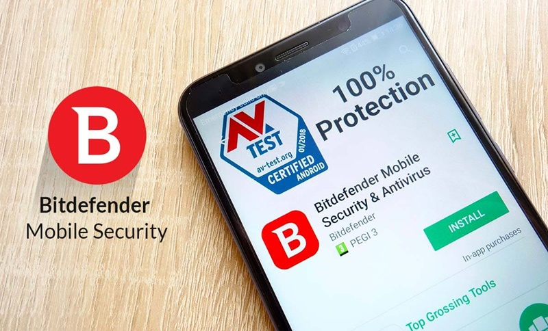 Bitdefender checks apps before installation.  (Source: Play Store)