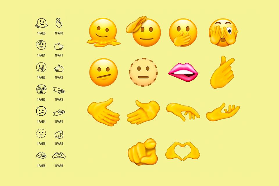 De homem grávido a coração k-pop: conheça os 37 novos emojis