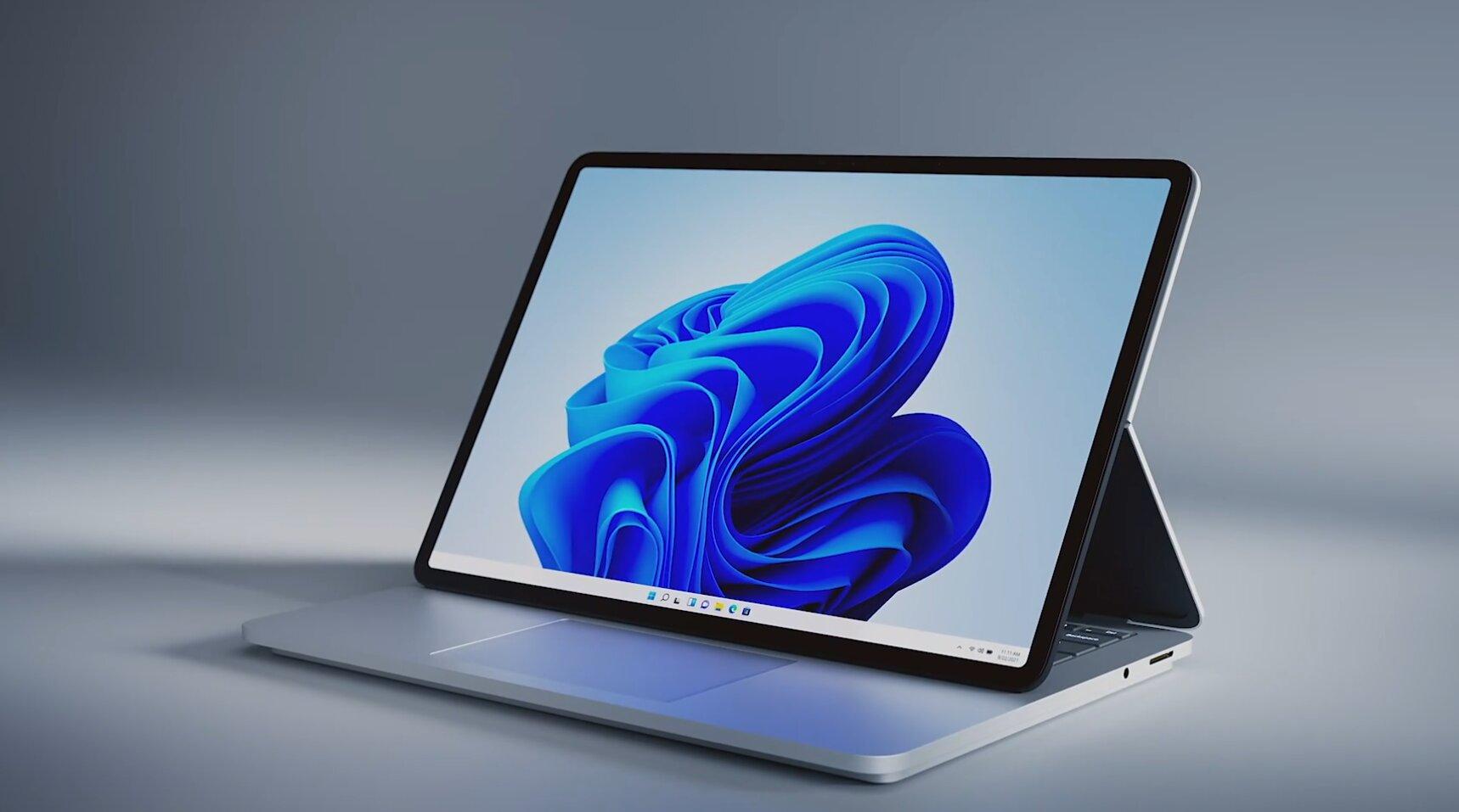 Microsoft anuncia Laptop Studio com RTX 3050Ti e novo design