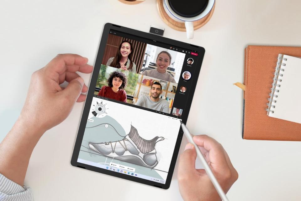 Windows 11: HP revela tablet com câmera giratória e notebook x360