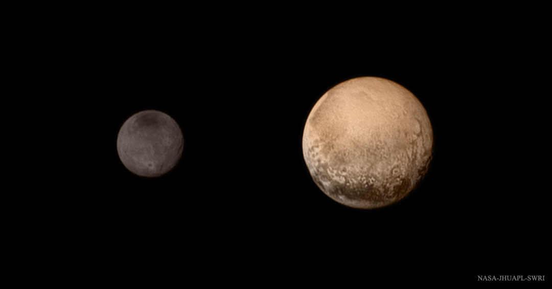 Dual dwarf planet system: Pluto and Charon