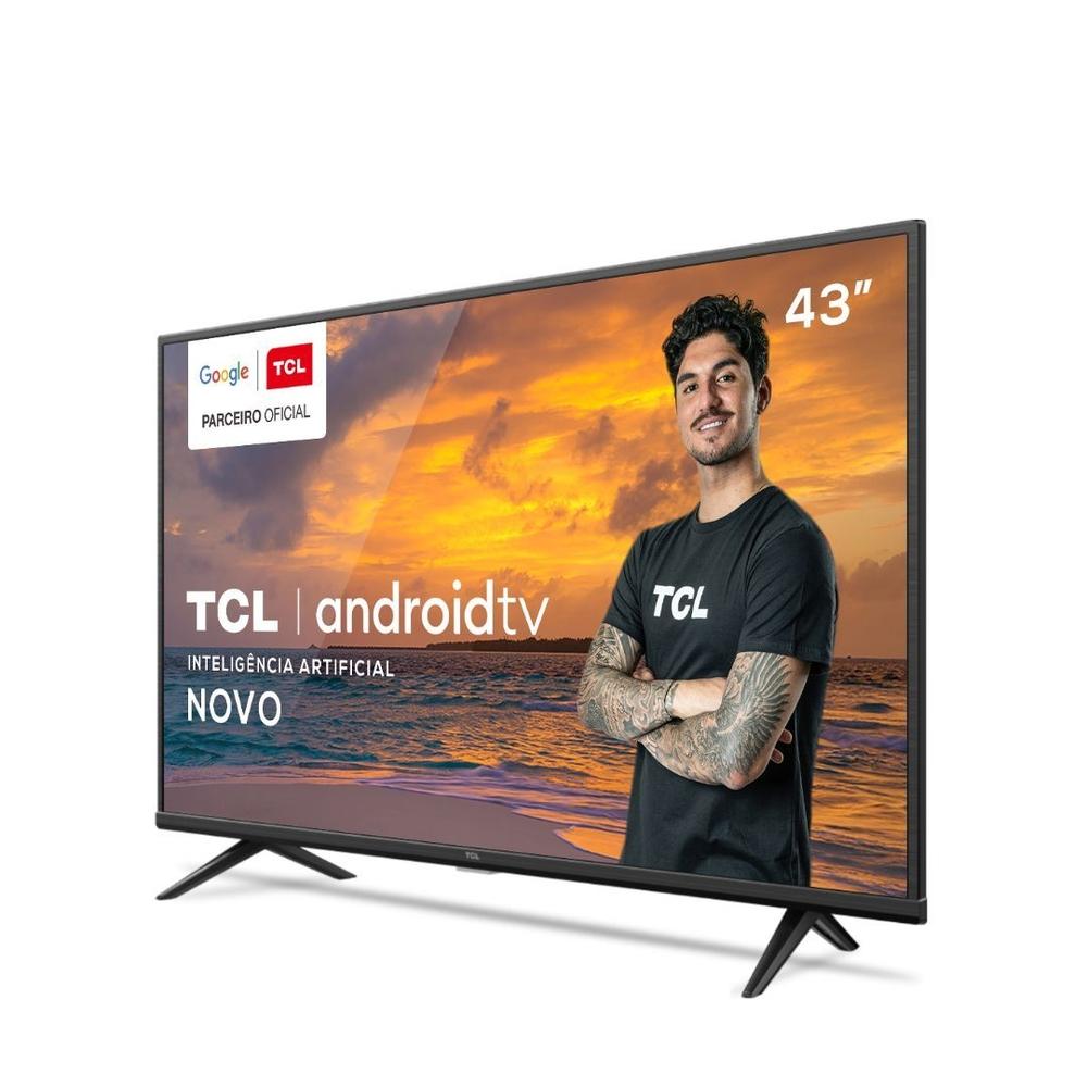 """Image: Smart TV LED 43"""" TCL 4K 43P615"""