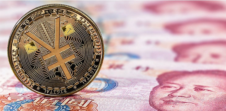Yuan Digital is the digital currency issued by China, without the security offered by Bitcoin technology.  (Source: Macau Business / Reproduction)