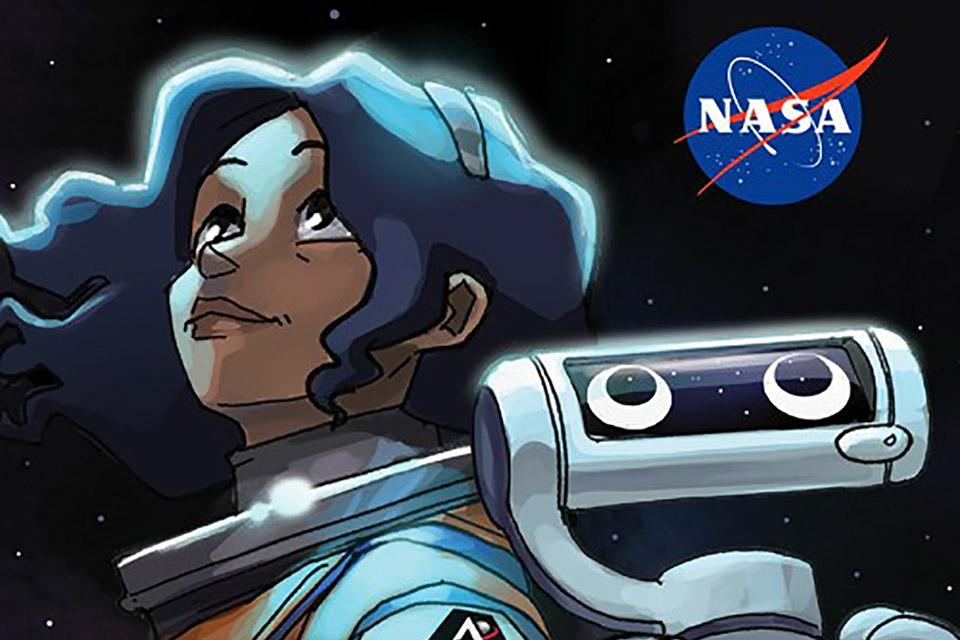 NASA lança quadrinho sobre primeira mulher na lua; veja como baixar