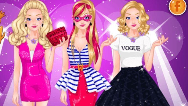 Imagem de Super Barbie Runway Model