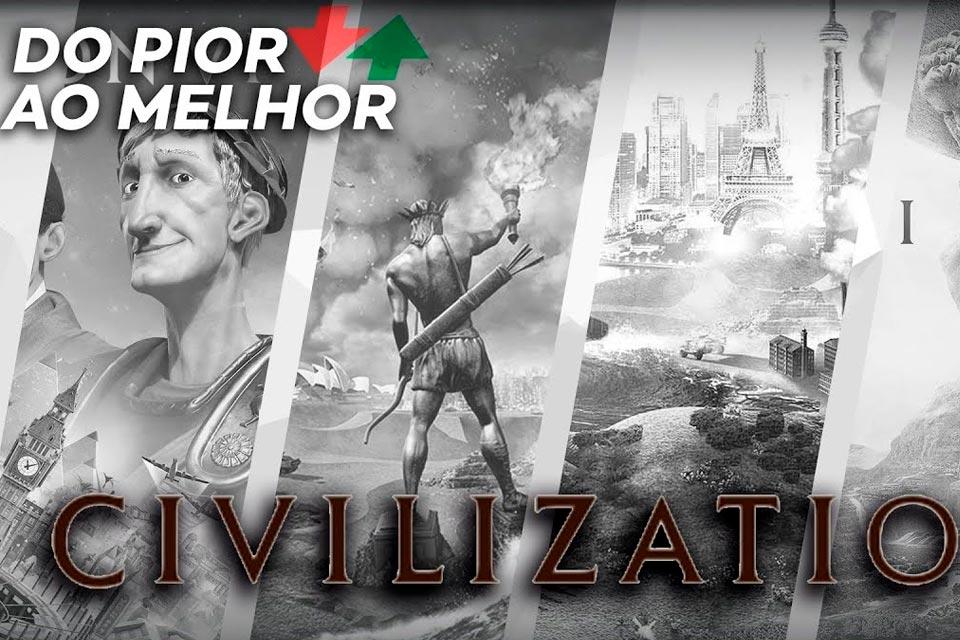 Civilization: do pior ao melhor, segundo a crítica