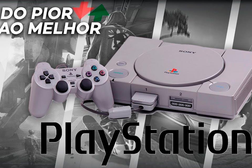 PlayStation 1: do pior ao melhor jogo, segundo a crítica