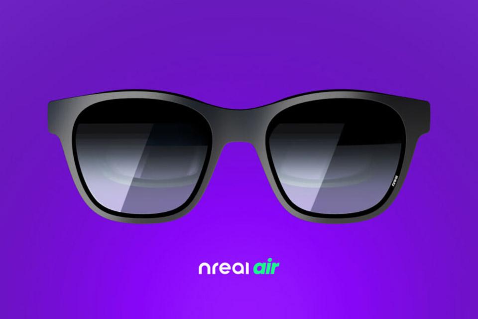 Óculos de sol Nreal Air mostram vídeos em realidade aumentada