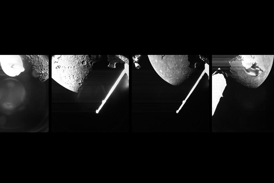 Missão espacial BebiColombo divulga primeiras imagens de Mercúrio; veja