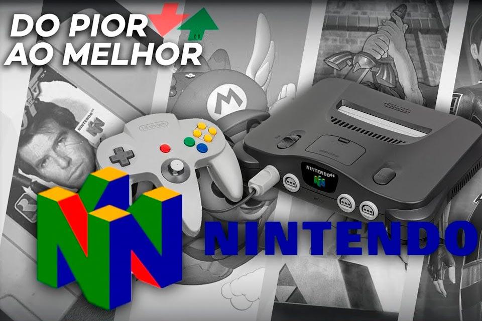 Nintendo 64: do pior ao melhor jogo, segundo a crítica