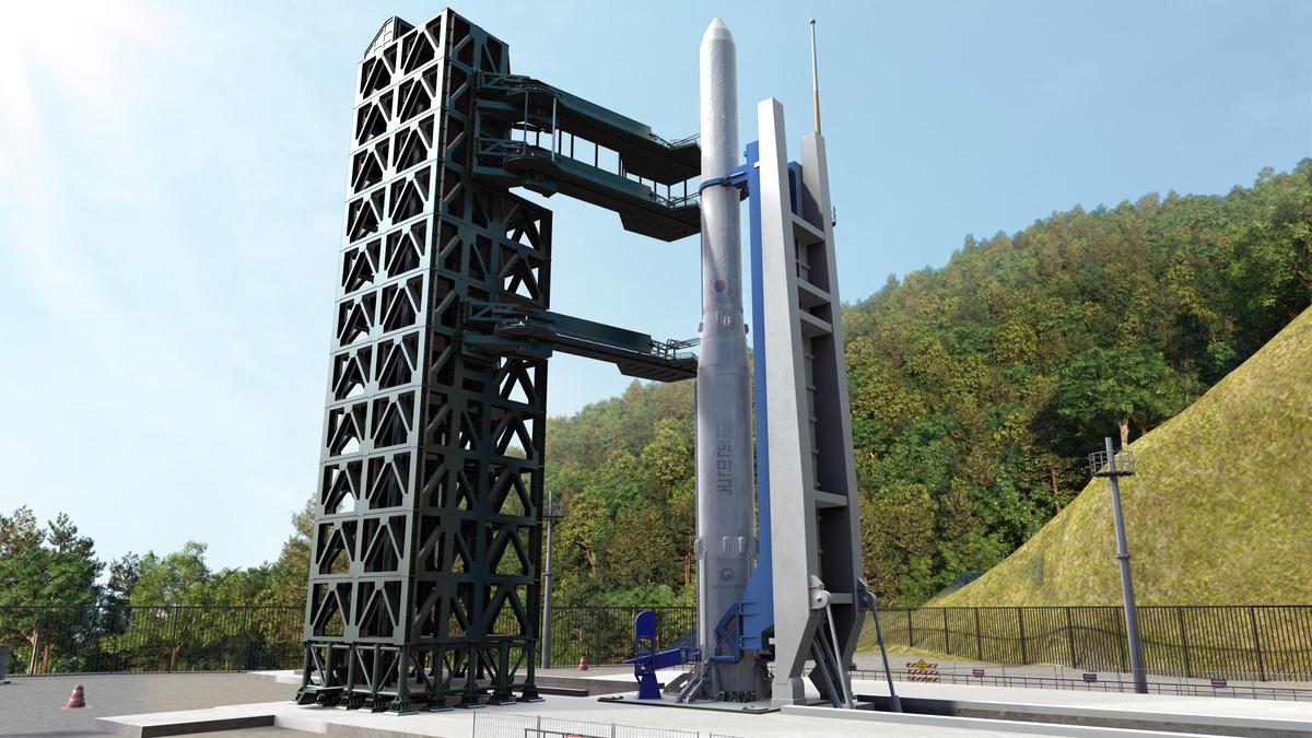 Korean Nuri Rocket.