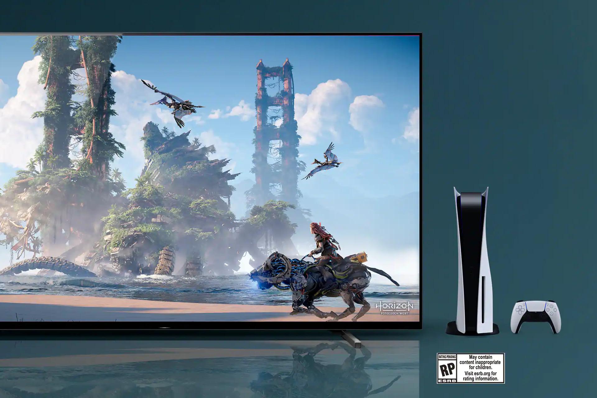 Sony lança TV 'perfeita para PS5', com foco em imagens