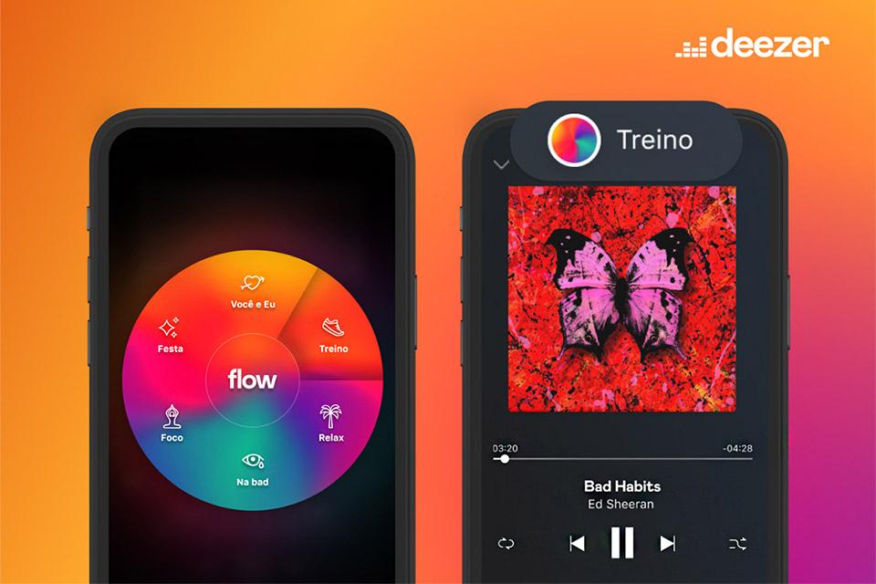 Deezer lança Flow Moods, que combina músicas com seu humor atual