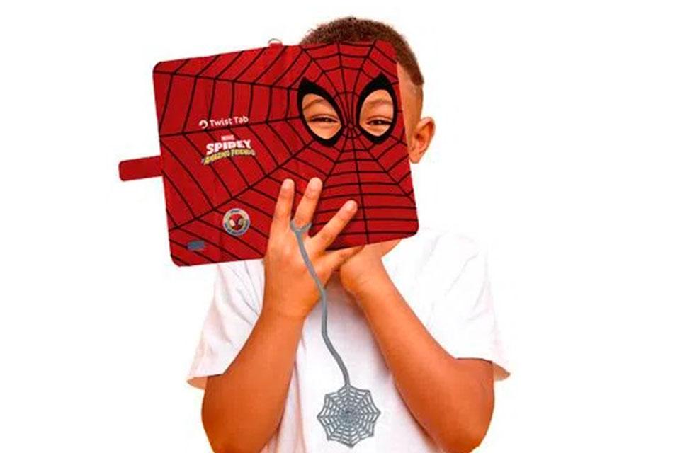 Positivo lança tablet do Homem-Aranha para crianças