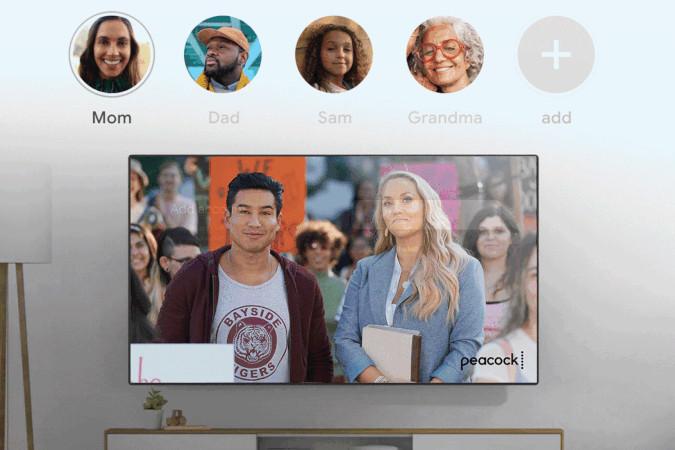 Google TV adiciona opção de múltiplos perfis individuais