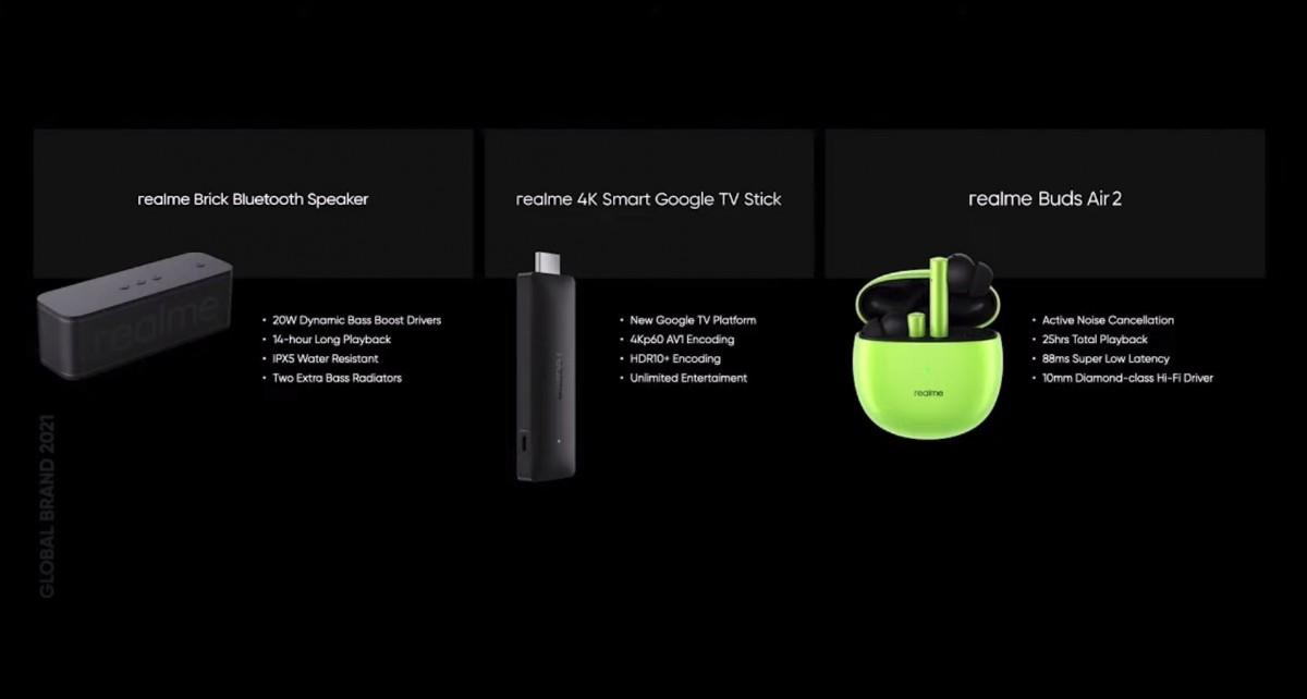 Novos produtos da linha Smart AIoT da Realme.