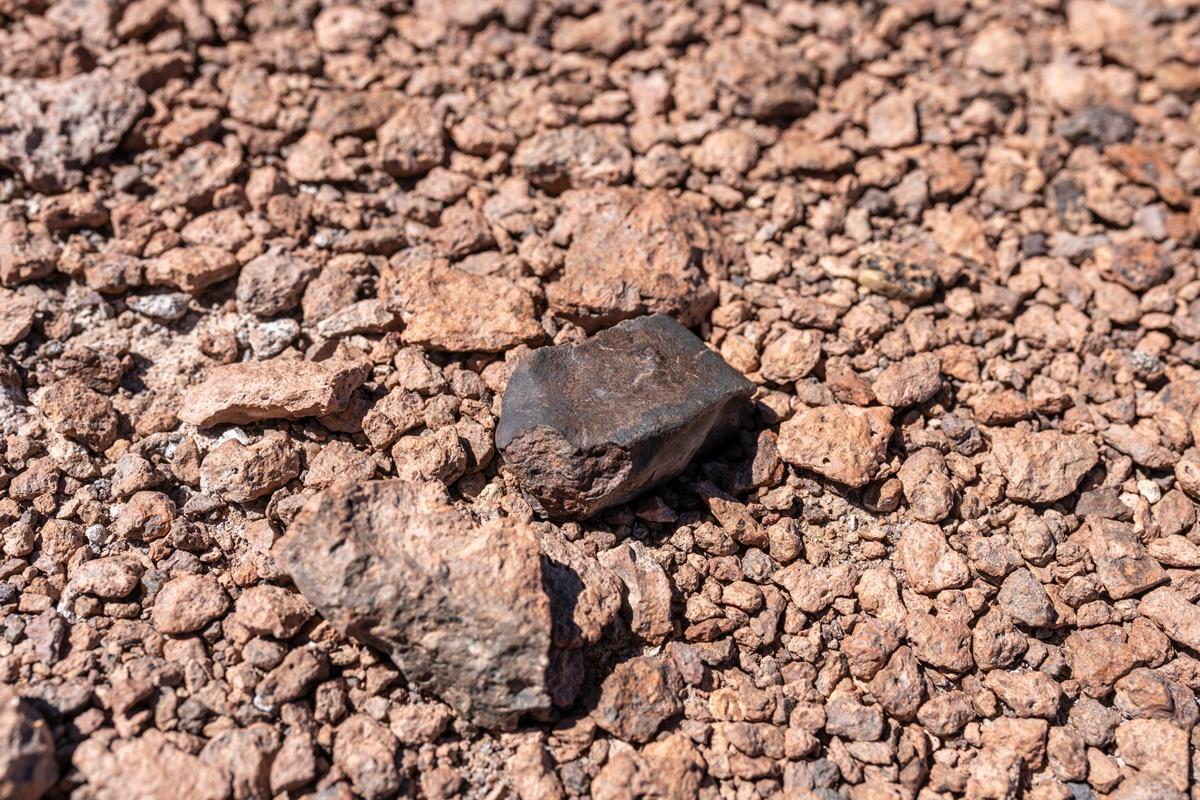 Possible meteorite found in the Atacama Desert region of Chile