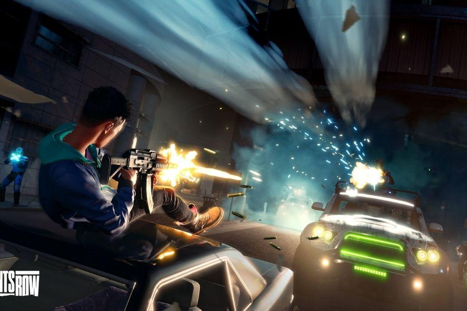Saints Row mostra seu combate com carros e armas em novo vídeo