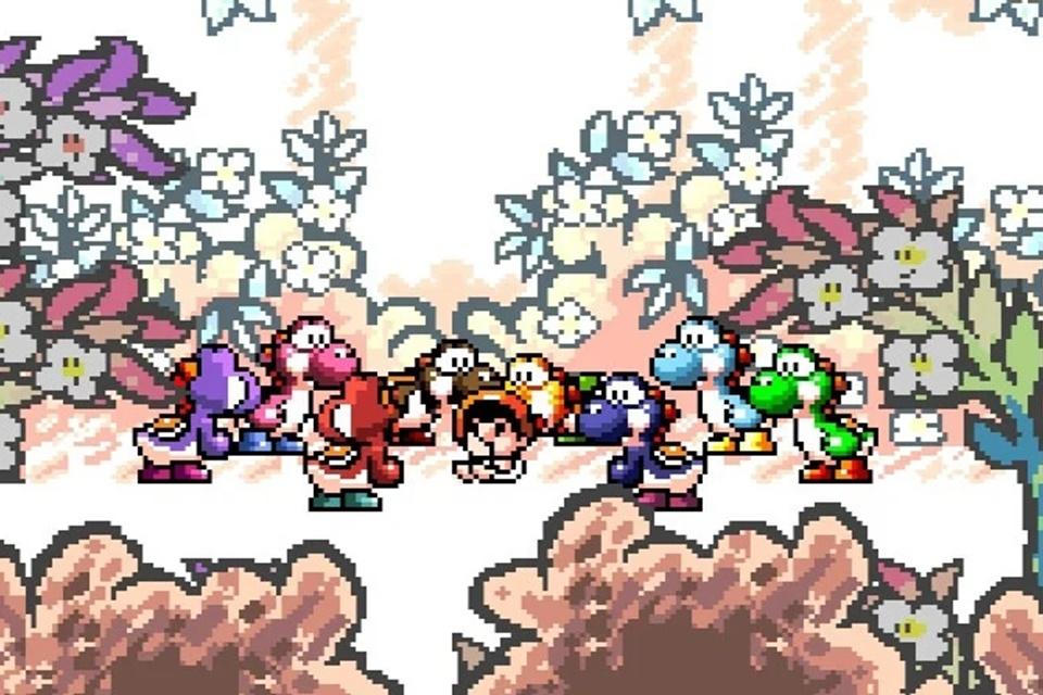 Você sabia que os 'Yoshis coloridos' possuem nomes oficiais?