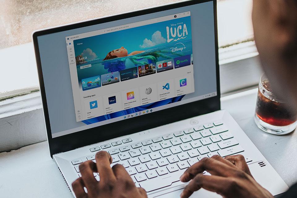 Novas imagens mostram Windows 11 rodando apps Android