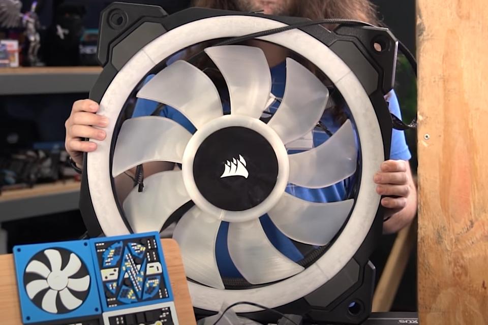 Corsair possui 'ventilador' de 500mm para computadores com RGB