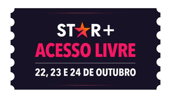 3 dias de Star+ grátis!