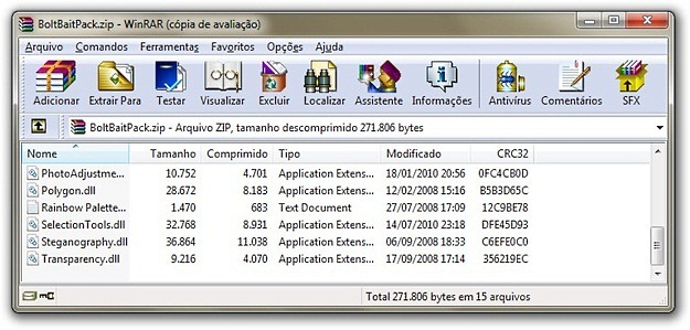 RAR PARA 8 BAIXAR WINDOWS DESCOMPACTADOR