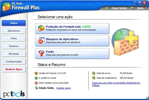 PC Tools Firewall Plus - Imagem 1 do software